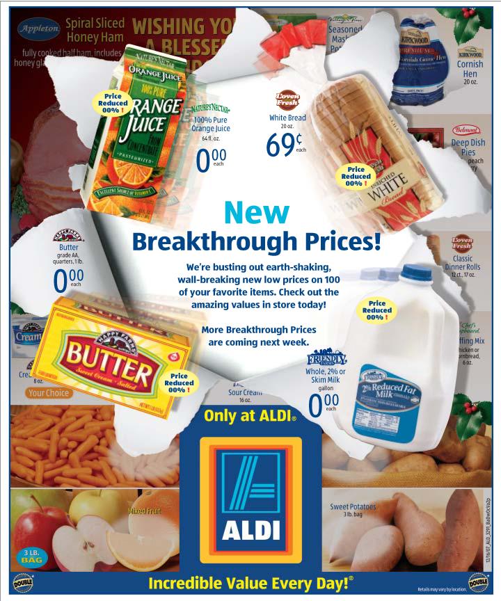 ALDI Breakthrough Flyer
