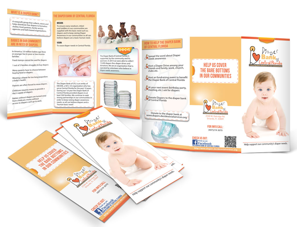Diaper Bank of Central Florida Brochure
